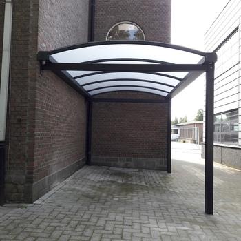 BG Carports - Gebogen dakconstructie